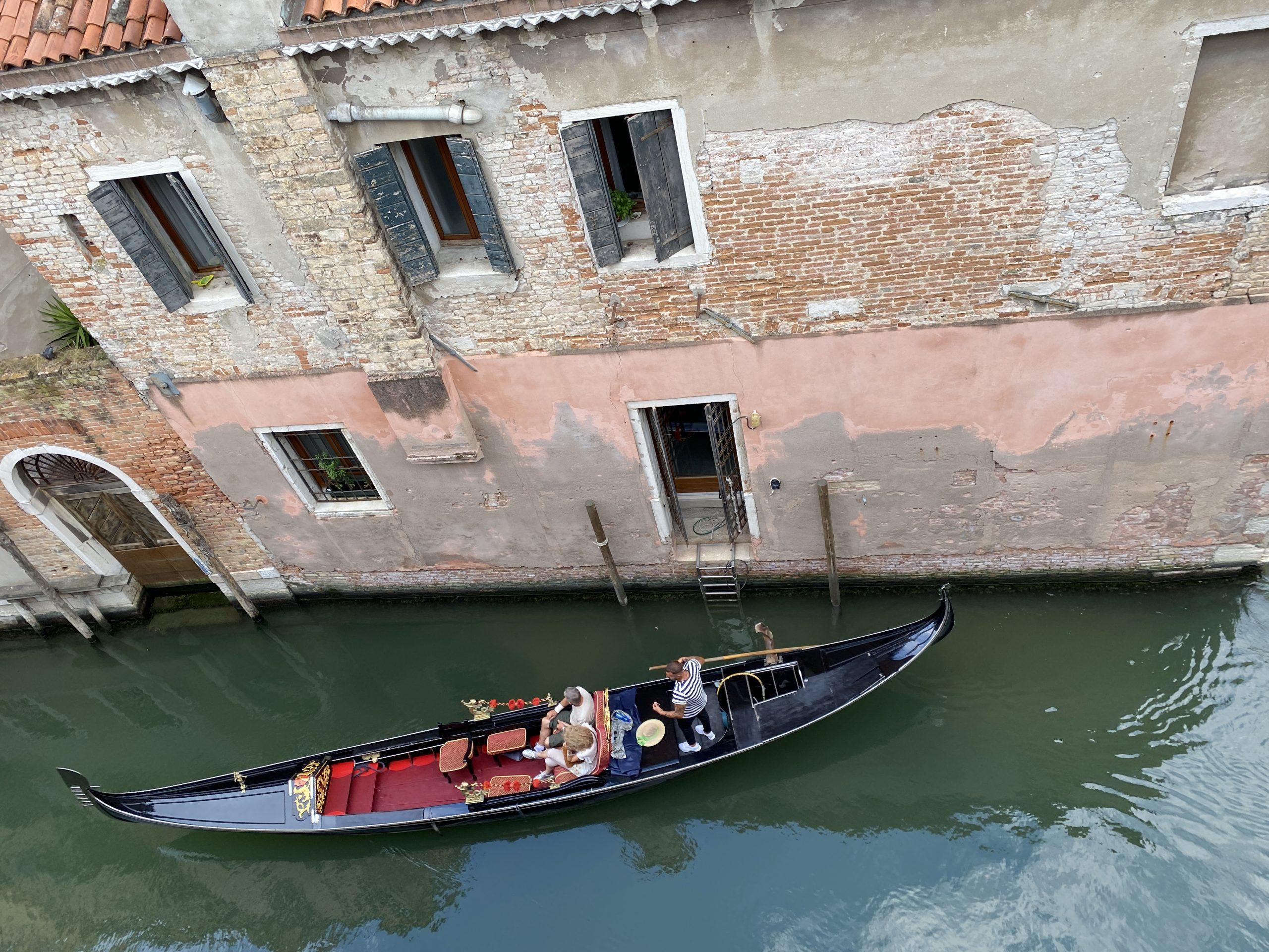 Venedig - Blick vom Balkon