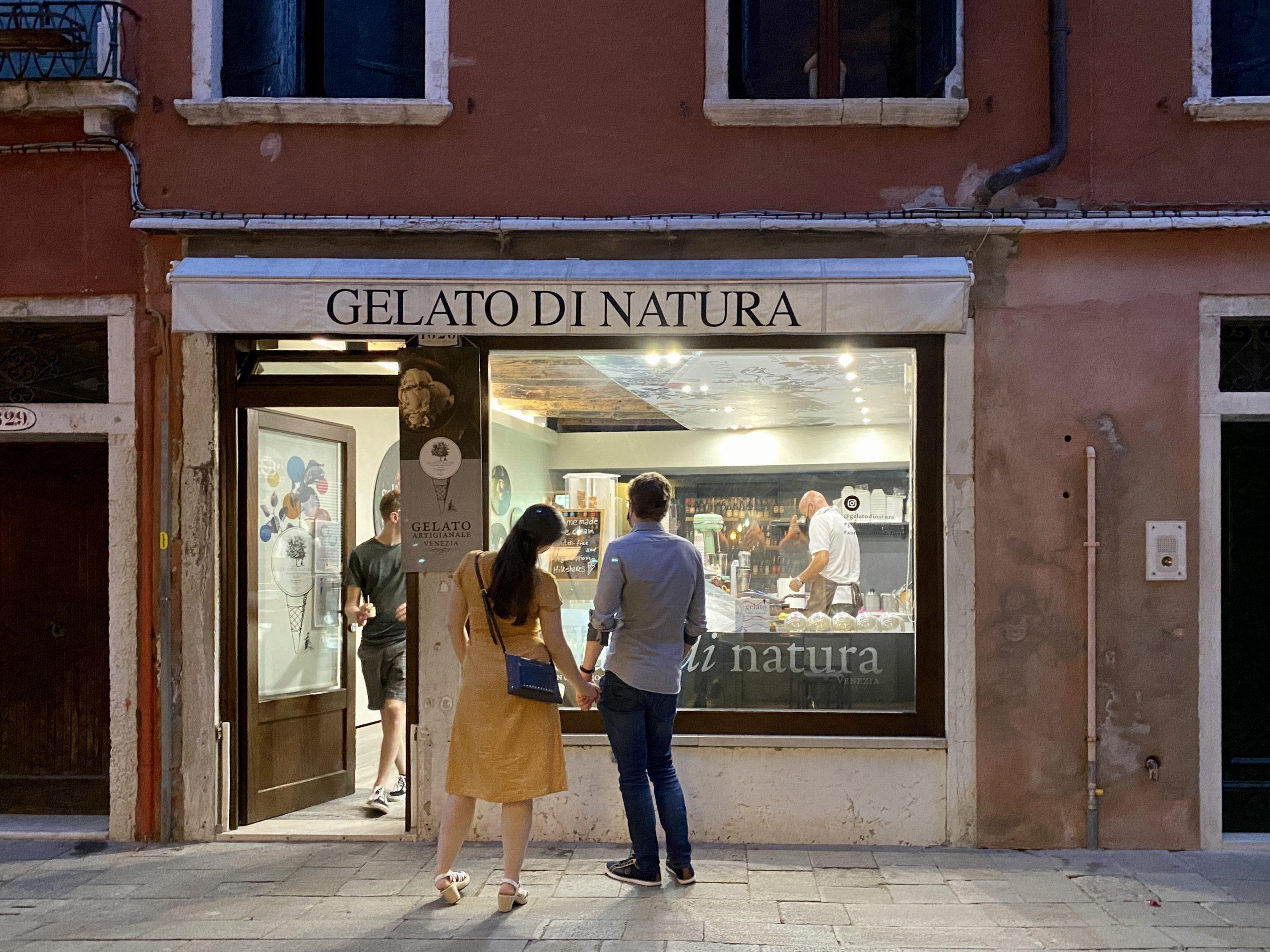 Venedig - Eisladen